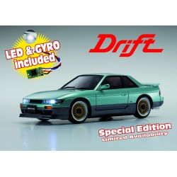 Kyosho MINIZ MA020S NISSAN SILVIA LIME GREEN w/LED & GYRO SPECIAL EDITION