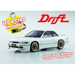 Kyosho MINIZ MA020S NISSAN SILVIA PEARL WHITE w/LED & GYRO SPECIAL EDITION