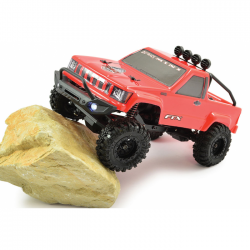 FTX OUTBACK MINI 4WD TRAIL 1/24 ROUGE - FTX5502R