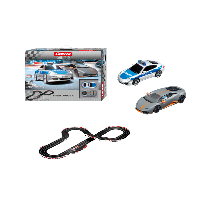 circuit carrera 132 evolution speed patrol. Black Bedroom Furniture Sets. Home Design Ideas