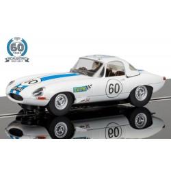 Scalextric C3826A Collection 60e anniversaire no. 6-1960, Jaguar E-Type edition limitée