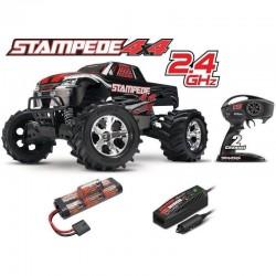 TRAXXAS STAMPEDE 4X4 XL-5 TQ ID RTR 67054-1