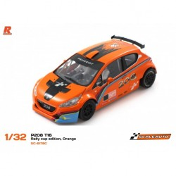 Scaleauto Peugeot 208 T16 Coupe Rally Edition Orange SC-6178C