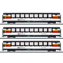 "Marklin 43650 Coffret de voitures de grandes lignes ""Gotthard Panorama Express"""