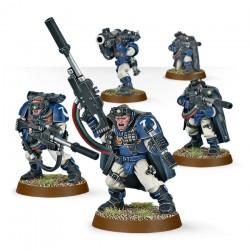 Warhammer 40K Space Marine Scouts avec fusils de snipers 48-29