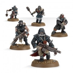 Warhammer 40K CHAOS SPACE MARINES CHAOS CULTISTS 35-34