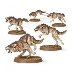 Warhammer 40K SPACE WOLVES FENRISIANWOLF PACK 53-10