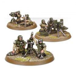 Warhammer 40K Garde impériale Cadian Squad armes lourdes 47-19