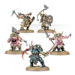 Warhammer Age of Sigmar : Chaos - Nurgle Rotbringers Putrid Blightkings 83-28