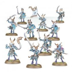 Warhammer Age of Sigmar : Chaos - Tzeentch Arcanites Tzaangors Enlightened 83-74