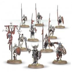 Warhammer Age of Sigmar : Death - Skeleton Warriors 91-06