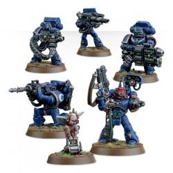 Warhammer 40K Adeptus Astartes Space Marine - Devastator Squad 48-15