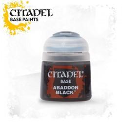 Peinture Abaddon Black 21-25