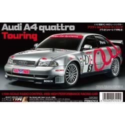 Tamiya Audi A4 Quattro Touring TT01E Kit 47414