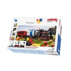 """Marklin 29730 Coffret de départ """"Train en briques encastrables"""" Märklin Start up avec son et briques lumineuses. 230 V"""