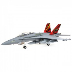 E-Flite F-18 HORNET 80MM EDF BNF BASIC WITH AS3X AND SAFE SELECT EFL3950