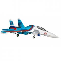 E-Flite SU-30 1640MM TWIN EDF 70MM AS3X & SAFE BNF - EFL01050
