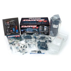 Traxxas STAMPEDE 4X4 KIT, ELECTRONICS INCLUDED TRX67014-4