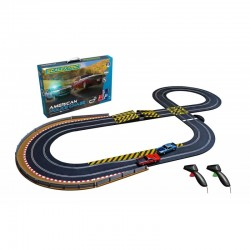 Scalextric Coffret American Police Chase C1405