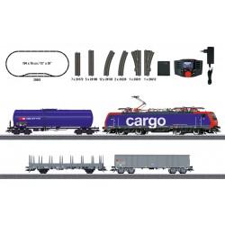 """Marklin 29861 Coffret de départ numérique """"Train marchandises suisse"""""""