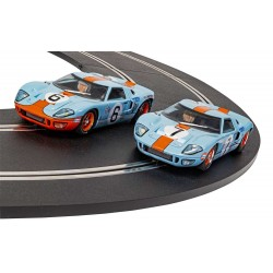 Scalextric C4041A Ford GT40 1969 Gulf Twin Pack C4041A