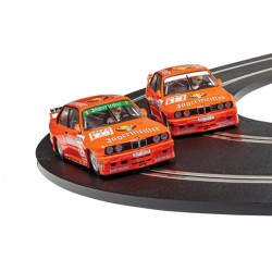Scalextric C4110A BMW E30 M3 - Team Jagermeister Twin Pack C4110A