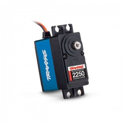 Traxxas SERVO HIGH TORQUE 9KG DIGITAL CORELESS 2250 ETANCHE - PIGNONS METAL