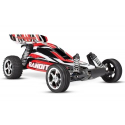 TRAXXAS BANDIT ROCK N' ROLL - 4X2 - 1/10 BRUSHED TQ 2.4GHZ - SANS ACCUS/CHARGEUR TRX24054-4