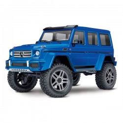TRX-4 MERCEDES G500 4X4 BLUE WITH LED SET TRX82096-4BLUE-LED