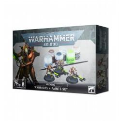 Warhammer 40k Nécrons: Set Guerriers + Peinture