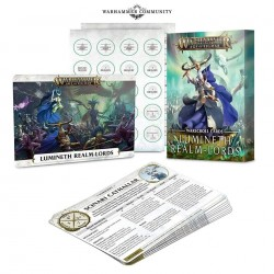 Warhammer Age of Sigmar Cartes de Chartes d'Unité: Lumineth Realm-lords