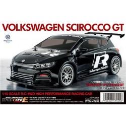 Tamiya Volkswagen Scirroco GT TT01E 47451