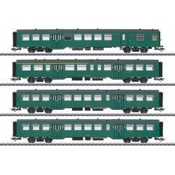 Märklin set de 4 voitures M2 en époque III 43546