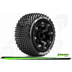 Louise RC - ST-HORNET - Set de pneus Truck 1-16 - Monter - Sport - Jantes 2.2 Noir - Hexagone 12mm - L-T3172SB