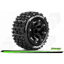 Louise RC - ST-PIONEER - Set de pneus Truck 1-16 - Monter - Sport - Jantes 2.2 Noir - L-T3278SB