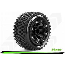 Louise RC - ST-UPHILL - Set de pneus Truck 1-16 - Monter - Sport - Jantes 2.2 Noir - L-T3279SB