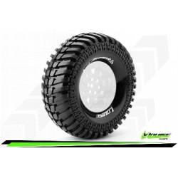 Louise RC - CR-ARDENT - Jeu de pneus Crawler 1-10 - Super Soft - pour Jantes 1.9 - L-T3232VI