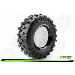 Louise RC - CR-ROWDY - Jeu de pneus Crawler 1-10 - Super Soft - pour Jantes 1.9 - L-T3233VI