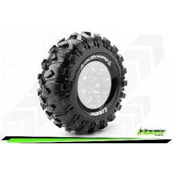 Louise RC - CR-ROWDY - Jeu de pneus Crawler 1-10 - Super Soft - pour Jantes 2.2 - L-T3238VI