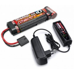 TRAXXAS BATTERY/CHARGER COMPLETER PACK 2969 CHARGER AND 2923X FLAT BATTERY