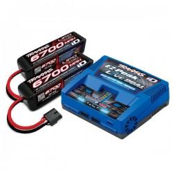 Traxxas Pack Traxxas 8S avec iD chargeur EZ-Peak Live Dual (2973G ) et deux batteries 4S ( 2x 2890X )TRX2997