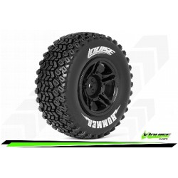 Louise RC - SC-HUMMER - Monter - Soft - Jantes Noir - Hexagone 12mm - SLASH 2WD Arr. - SLASH 4X4 Av/Ar - L-T3224SBTR