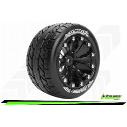 Louise RC - ST-ROCKET - Monter - Sport - Jantes 2.8 Noir - 0-Offset - Hexagone 12mm - L-T3208SB