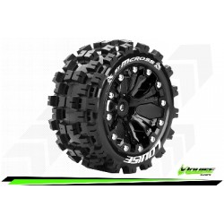 Louise RC - ST-MCROSS - Monter - Sport - Jantes 2.8 Noir - 0-Offset - Hexagone 12mm - L-T3272SB