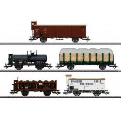 "Marklin 45175 Coffret de wagons marchandises ""175 ans de chemin de fer en Wurtemberg"""