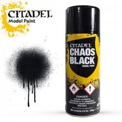 Citadel Chaos Black bombe 400 ml