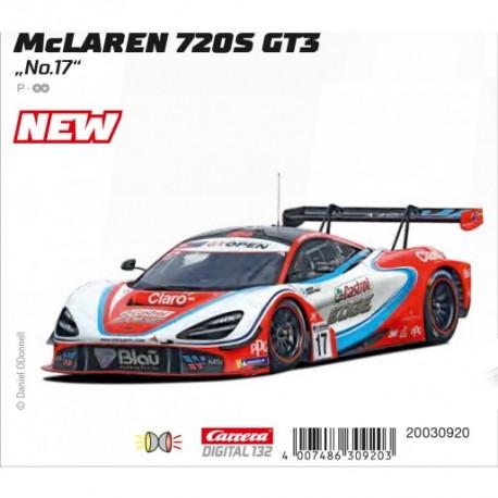 Carrera DIGITAL132 McLaren 720S GT3 No.17 30920