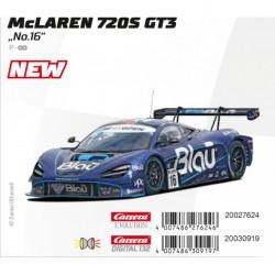 Carrera DIGITAL132 McLaren 720S GT3 No.16 30919