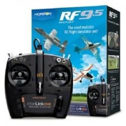SIMULATEUR DE VOL REALFLIGHT RF-9.5 AVEC CONTROLEUR SPEKTRUM