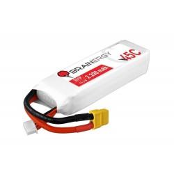 BRAINERGY LiPo battery 3s1p 11.1V 2200mAh 45C XT60